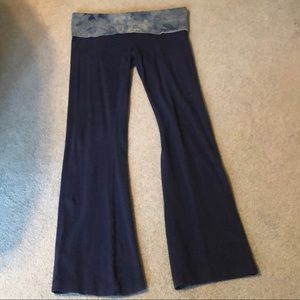 Navy blue solow pants